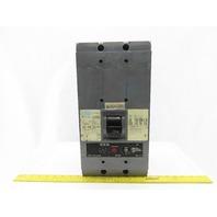 Westinghouse HNC31200F Circuit Breaker 1200A 3 Pole Set Up 2Pole 600V 1000A Trip