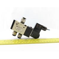 NTRA AVS-3313-24D Pneumatic Solenoid Valve 20-115PSI 24V
