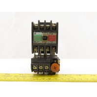 Mitsubishi Electric S-A11RM Magnetic Contactor W/5-8A Over Load Relay