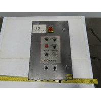 """Cousins Model 2100 16x24x6"""" Electrical Enclosure With Extra Components Control"""