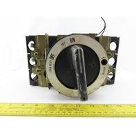 Mitsubishi NF225-S 175A No-Fuse Circuit Breaker 3 Pole W/Operator