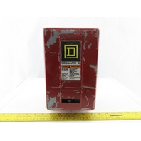 Square D 8536 SBO2 Ser A Starter 600V Size 0 W/120V Coil & Enclosure