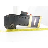 Norgren EC63D-A-1-0-0-D-30-23-0 30° Dual Shaft Clamping Actuator Cylinder
