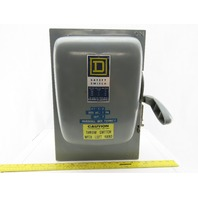Square D HU363 Ser A1 100A 600V Single Throw Disconnect Safety Switch Fusible