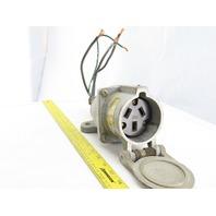 PYLE NATIONAL 322-RA-4 60A 600V 3 Pole Receptacle Plug