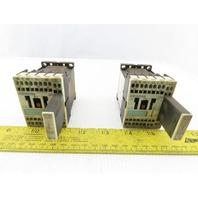 Siemens 3RH1140-2BB40 Sirius Contactor 24V Coil Lot of 2
