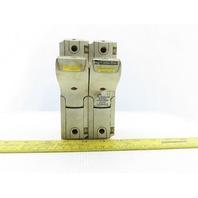 Ferraz Shawmut 27 x 60mm 2 Pole Fuse Holder 800V 150A Rail Mount