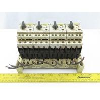Siemens 3ZX1012-0RV02-1AA1 Circuit Breaker W/Adapter Plug 8US1 051-5DJ07  Assy.