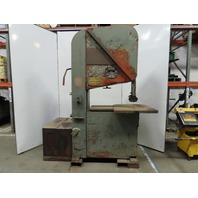 "DoALL 36R 10Hp Vertical Band Saw 35""x 14"" 2,000 to 15,000 Rpm 230/460V 3 Phase"