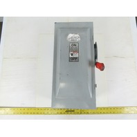 Siemens HNF363J Non Fusible Heavy Duty Safety Switch Disconnect 600V 100A