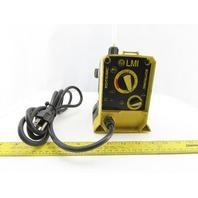 LMI Roytronic A11-910HI Metering Pump 120V 13 GPH 250PSI