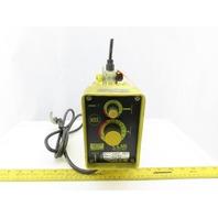 LMI Milton Roy A151-95LS Metering Pump 120V 100 GPH 110PSI