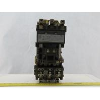 Allen Bradley 509-DOD Ser A Size 3 Starter 460-575V 50HP 230V 30 HP 200V 25 HP