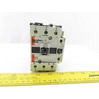 Sprecher + Schuh CA 3-37-N Contactor 600V 45A 120V Coil 3 Pole