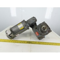 Hub City 3206 90VDC .75Hp 250:1 Ratio 7 RPM Hollow Thru Gear Reducer Motor