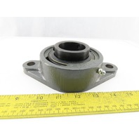 """Seal Master SFT-28 Gold Line Two Bolt Flange Mounted Bearing 1-3/4"""" Bore"""