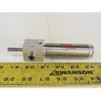 """Bimba BFT-091.75-D 1-1/8"""" Bore 2"""" Stroke Trunnion Nose Air Cylinder"""
