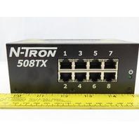 N-Tron 508TX 8 Channel Ethernet Switch