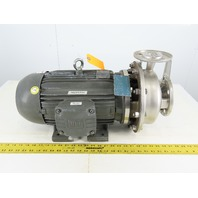 Scot Pump 3413K103 10Hp 2x1.5 208-230/460V Stainless Steel Centrifugal Pump