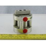 """Bimba FT-17-1 1-1/2"""" Bore 1-1/16"""" Stroke Dual Rod Non Rotating Air Cylinder"""