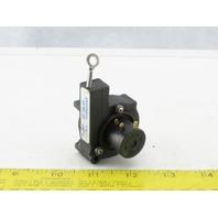 "UniMeasure LX-PA-25 Linear Position Transducer Line Measurement Sensor 25"" Line"