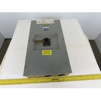 Square D LA-400S 250A Circuit Breaker W/400A Enclosure 600V 3 Pole