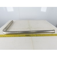 """2"""" Stainless Steel Sanitary Extended 90° Elbow"""