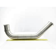 "3"" Flanged Stainless Steel Sanitary 90° Elbow To 45°"