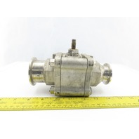 "2"" To 1-1/2"" Stainless Steel Sanitary Ball Valve Reducer"