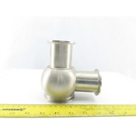 "2"" x 2"" Stainless Steel Sanitary Valve Body"