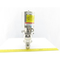 "2"" Stainless Steel Sanitary Top-Flo Automated Flow Control Valve"