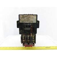 Square D 8536SEG1S Ser A Size 3 Motor Starter 50HP 120V Coil 3P 600V