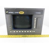 Hyundai Siemens 6FC5103-0AB01-0AA1 CNC Lathe HIT 15S Monitor Control HiTROL-840C