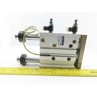 """SMC MGPM32-S4663-75 Compact Guide Air Cylinder 3"""" Stroke"""
