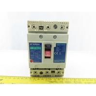 Mitsubishi Electric NF100-CW No-Fuse Breaker 220VAC 100A 3Pole Cat A
