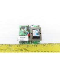 Warrick 16DB1D0 Load Contacts Gem Sensors 120/240VAC 5A W/Series 16DPDT Board