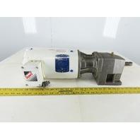 Baldor 35S606M613G1 16.73:1 Ratio 208-230/460V 105RPM Inline Gear Motor