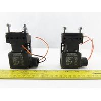 Schmersal AZ 16-12ZVRK-M20 500V Interlock Safety Switch Lot Of 2