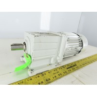 Lenze MDEMA1M071-32 9.1:1 Ratio 156RPM 0.45kW 50/60Hz Inline Gear Motor