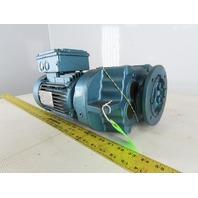 Sew DFT80K4 51.70:1 Ratio .75Hp 230/460V Parallel Gear Motor