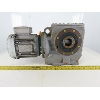 SEW-EURODRIVE SA77DRE90M4 1-1/2Hp Gear Motor 266/460Y 3Ph 225.26/1 Ratio 7.7RPM