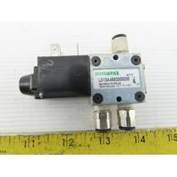 Numatics L01SA459000030 150 PSIG Solenoid Operated Pneumatic Valve 120V Coil
