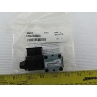 Numatics L01SA4592000030 4/2 Position Solenoid Operated Air Valve 120V