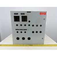 "24""x24""x12"" Electrical Enclosure Hinged Door W/Back Plate JIC"