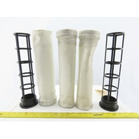 Premier Pneumatics 2313-142 Plastic Filter Cages With 3 Sock Filter Covers