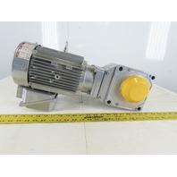 Sumitomo RNYMS1H-1420YA-7 7:1 Ratio 250RPM 1.5Hp 230/460V Gearmotor