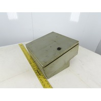 """13"""" x 13"""" x 5"""" Electrical Enclosure J Box With Extras"""
