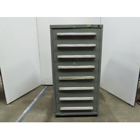 Vidmar 8 Drawer Small Parts Tooling Storage Cabinet 38 x 29 x 59""