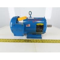 Baldor EM3615T 5Hp Electric Motor 208-230/460V 3Ph 184T Frame 1750 RPM