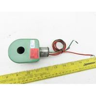Asco R8215135 Solenoid Valve 25PSI 3/4 Pipe 15.4W 120/60 110/50V/Hz